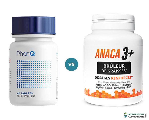 anaca3+ brûleur de graisse vs PhenQ