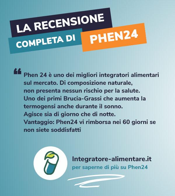 phen24 recensione opinione