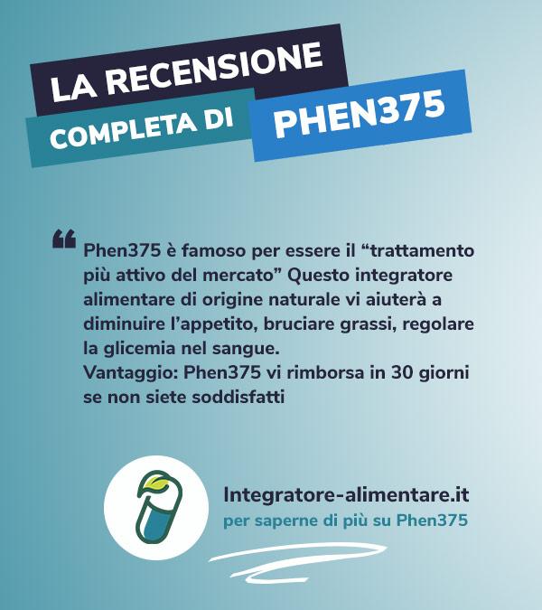 phen375 recensione opinione