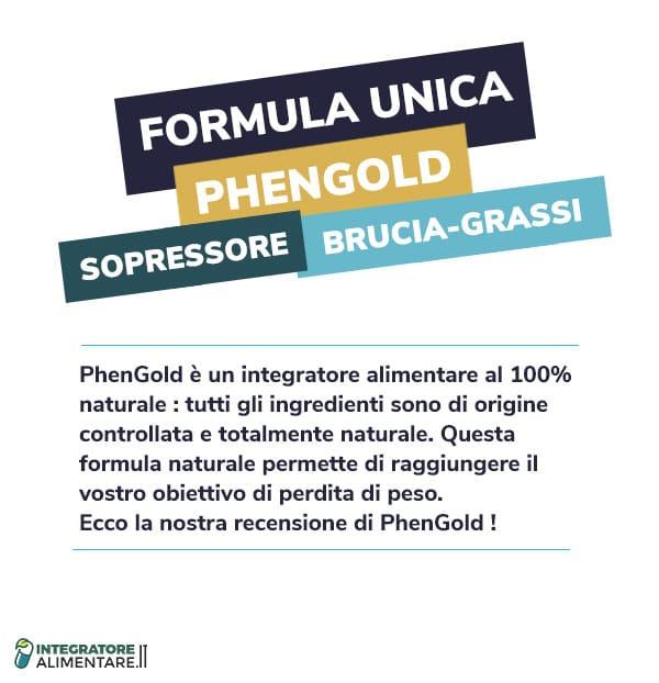 phengold recensione formula