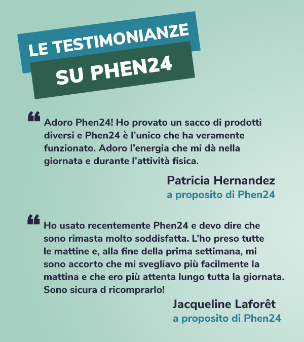 testimonianza Phen24